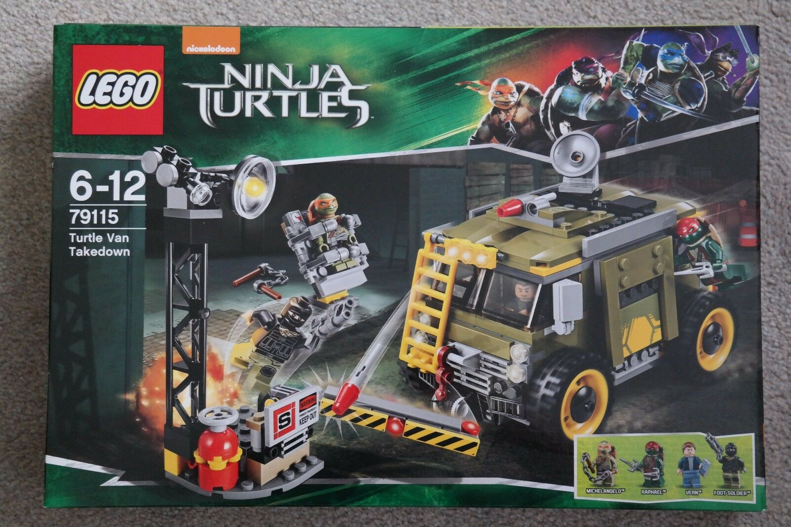 LEGO Teenage Mutant Ninja Turtles 79115 Turtle Van NEU OVP