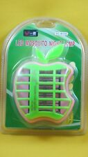 New Apple-Shaped LED Mosquito Night Lamp Mosquito Killer-Green-Pink
