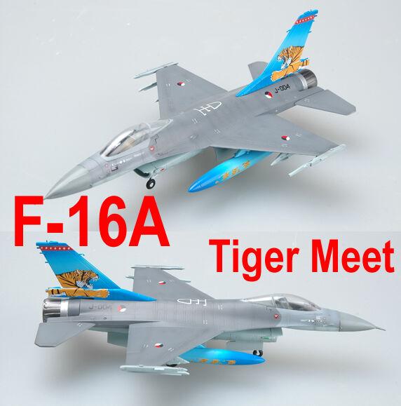 37126 1 72 Model EASY MODEL Navy F-16A J-004 NTAF TIGER MEET Warcraft Aircraft