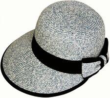 7ead2efd783 Angela   William-UPF 50-UV Sun Block Paper Braid Beach Pool Hiking Hat