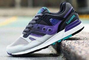 Saucony Grid SD Grey/Purple 702175 Size
