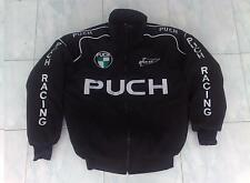 Nuevo Puch Oldtimer fan-chaqueta negro Jacket Veste jas giacca Jakka