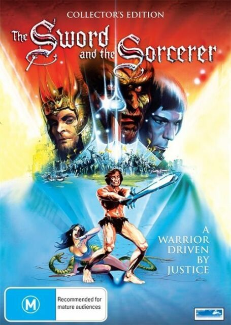 The Sword and the Sorcerer 1982 Lee Horsley DVD vgc rare oop  t76