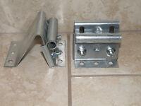 Garage Door Universal Top Roller Brackets - Adjustable Carrier