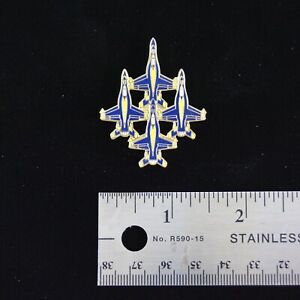 US-Navy-Blue-Angels-F-18-Hornet-Diamond-Formation-Hat-Pin