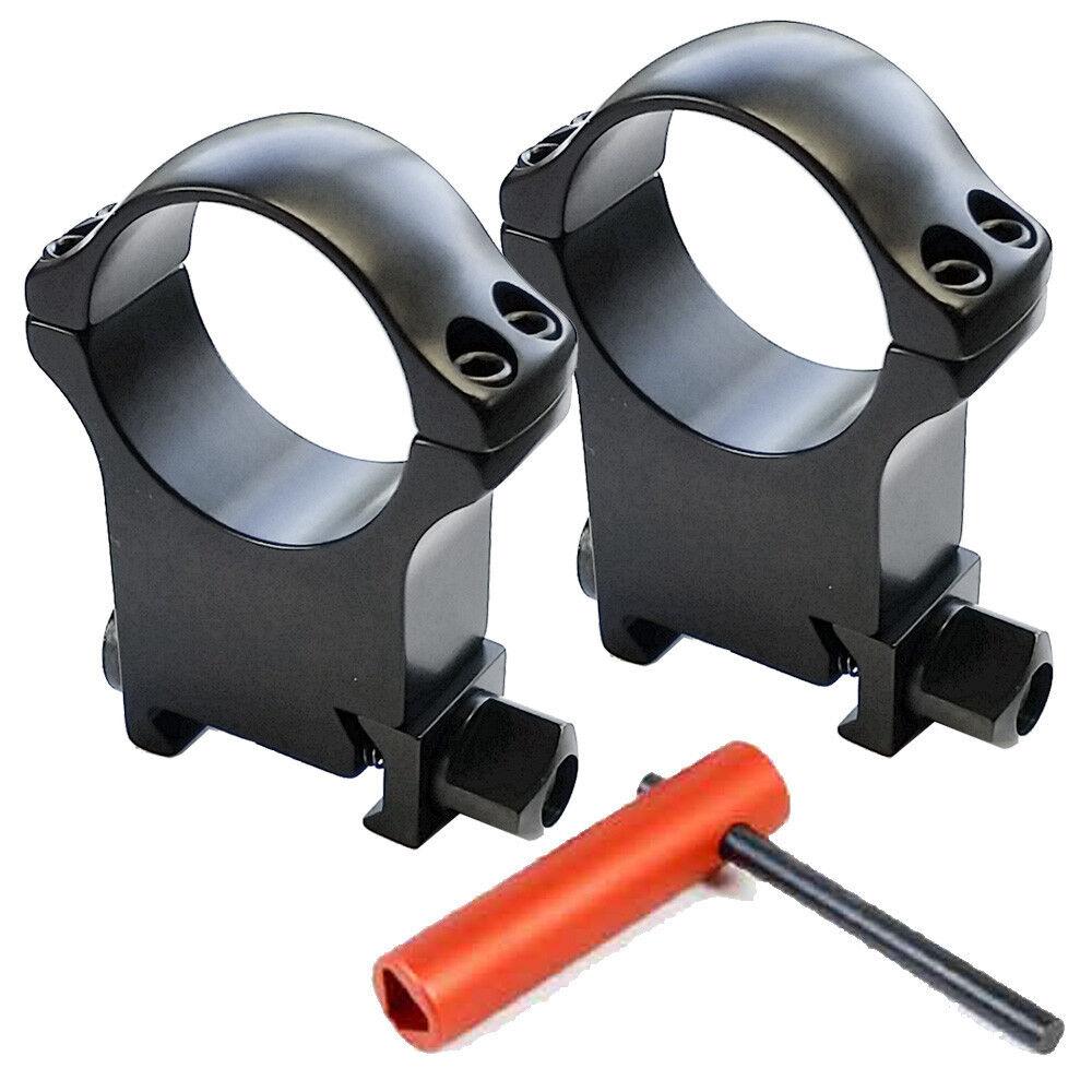 Recknagel 30mm de los anillos de alcance Para Picatinny - 19,0 mm alto [ 57030-1901 ]