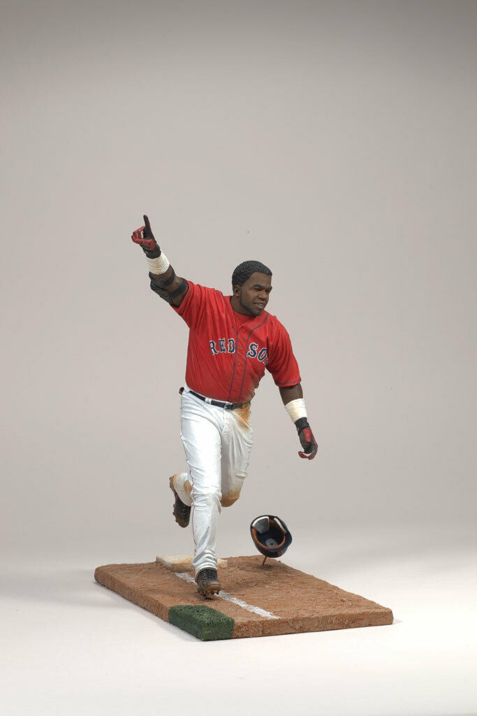 MCFARLANE MLB RED SOX DAVID ORTIZ  2004, 2007, 2013 World Series Champion