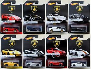 Hot Wheels Lamborghini Series All Set Of Pcs