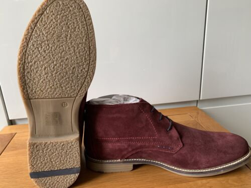 Mens Pure Suede Chelsea Boots Italian Style Casual Western Slip On Ankle Shoes
