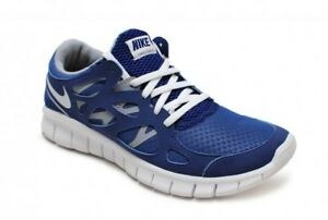 Womens Nike Free Run+ 2 EXT - 536746-410 - Royal Blue White Grey Trainers