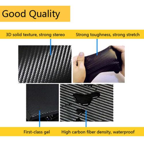 Car Rear Brake Light Dedicated Sticker Reflective Carbon Fiber Decal For Honda