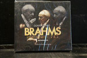 J-Brahms-Symphonies-1-2-amp-3-Guenter-Wand-2-CDs