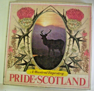 A-Musical-Tapestry-Pride-of-Scotland-5-Cassette-Tape-Boxed-Set