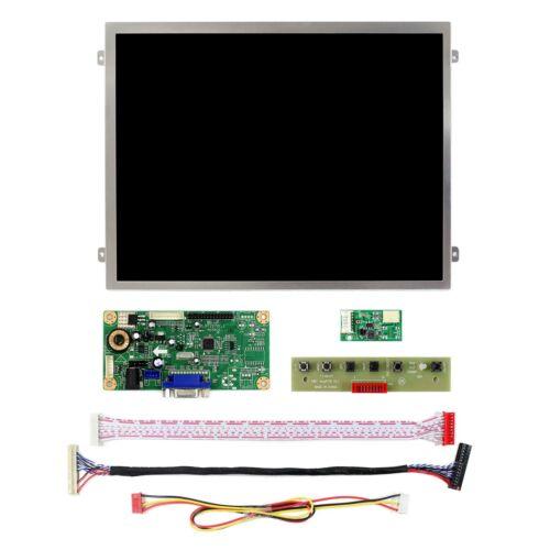 "Vga LCD Controller Board 10.4/"" 1024x768 LED Retroiluminación Pantalla LCD 500cd"