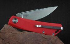 Real Steel Luna Exklusiv D2 Stahl Olivenholz-Griff Zweihandmesser Clip wählbar