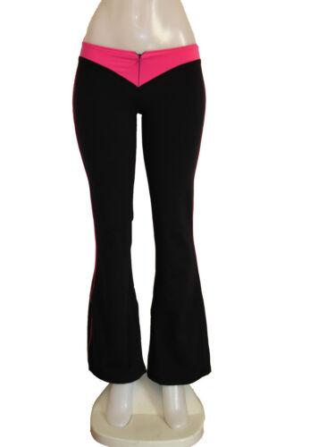 Sexy brasiliano Pant Zipper Fitness Supplex Front W PAwUrPCxq