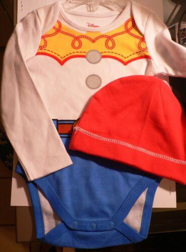 Jessie~Cuddly~BODYSUIT RED HAT~NWT~Infant 0-24M~Costume~Disney Store~Toy Story