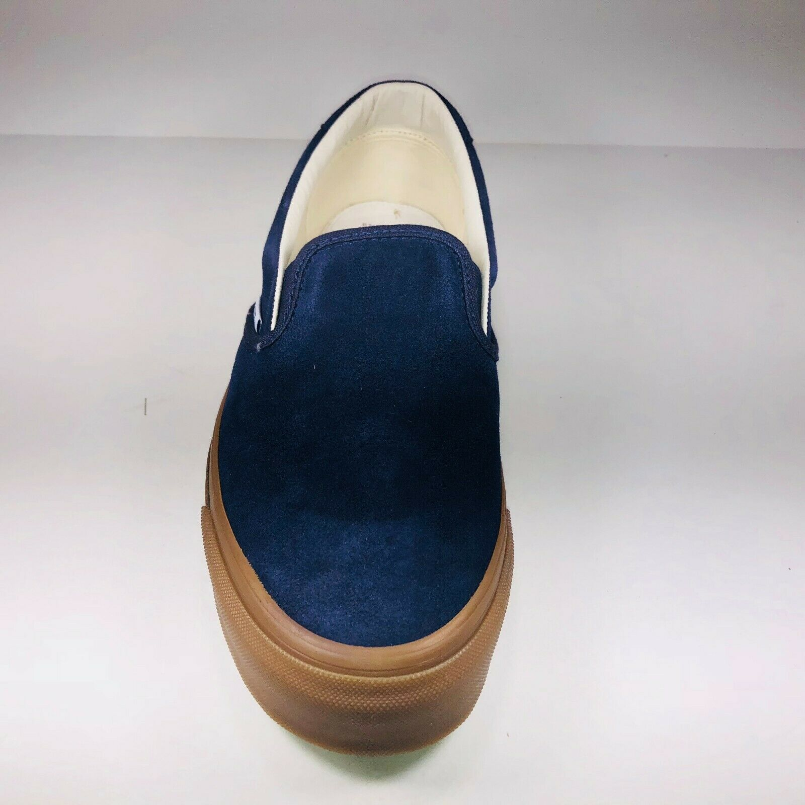 VANS VANS VANS OG Slip On 59 Suede Maritime bluee Brown Fashion shoes VN0A38FZQM8 Size 8.5 0bc3e3