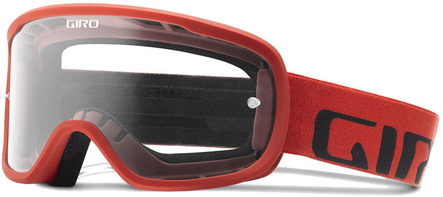 Giro Tempo MTB Goggle Red (Clear Lens)