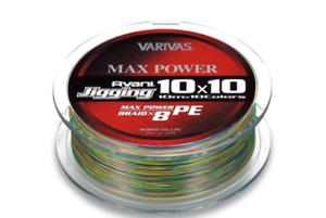 Varivas Avani Jigging 10x10 Max Power 200m PE