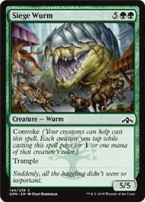 4x Siege Wurm MtG Guilds of Ravnica Near Mint Unplayed GRN