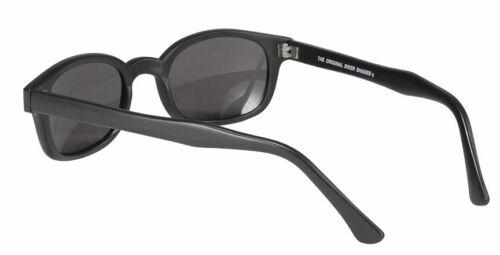 KD/'s Original 1 Pair Matte Frame Smoke Lens Old School Biker Sunglasses 20010