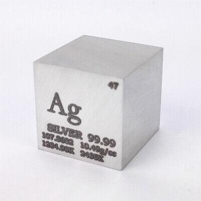 Kobalt Metall 25.4mm Würfel 99.99/% Markiert Periodensystem Elementesammlung
