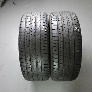 2x-PIRELLI-P-ZERO-245-40-r20-99y-pneus-d-039-ete-DOT-3913-5-mm-Runflat