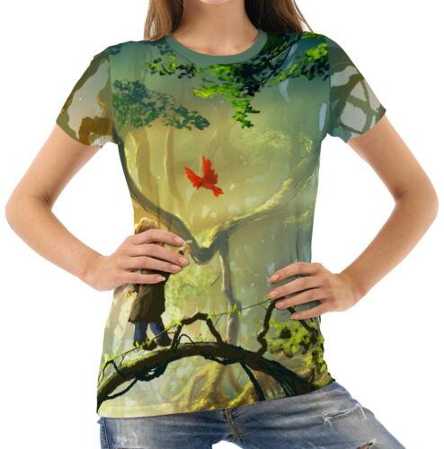 Ein magischer Moment Damen Kurzarm T-Shirt Tee wb1 acr40941