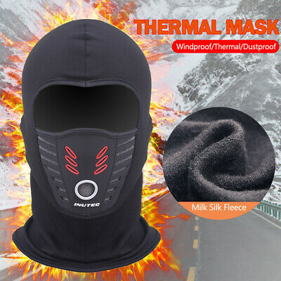 Men's Cold Weather Windproof Fleece Ski Ninja Mask Winter Balaclava Face Mask