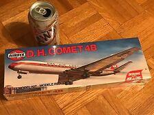 D.H. COMET 4B, LONDON AIRLINER PLANE, Plastic Model Plane Kit, Scale 1:144
