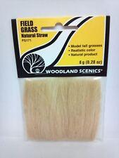 Field Grass Natural Straw Woodland Scenics #171 FG171 Model Trains Dioramas