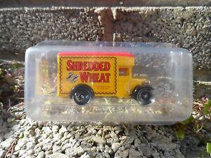 Dias-Gone-Lledo-Shredded-Wheat-van-Diecast-Modelo-van