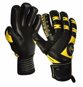 Image is loading GK-Saver-passion-black-negative-cut-goalkeeper-gloves- bc2cd752e
