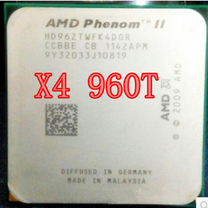 Details about AMD Phenom II X4 960T 3GHz Quad-Core (HD96ZTWFGRBOX) Processor