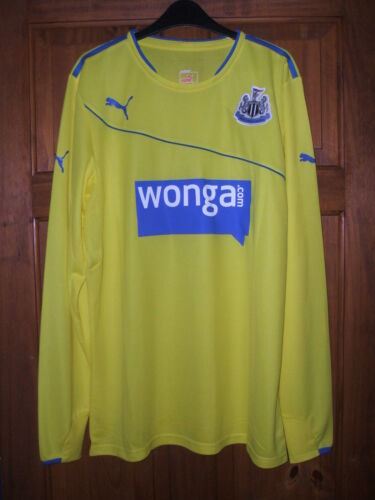New Authentic Newcastle United 2013//14 3rd Away L//S Shirt PLAYER ISSUE Adults XL