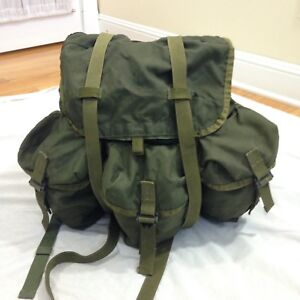 Us Army Surplus >> Vintage Us Army Surplus Alice Field Pack Military Combat Green Nylon