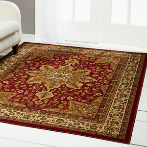Image Is Loading Red Burgundy Oriental Area Rug 2 X 7