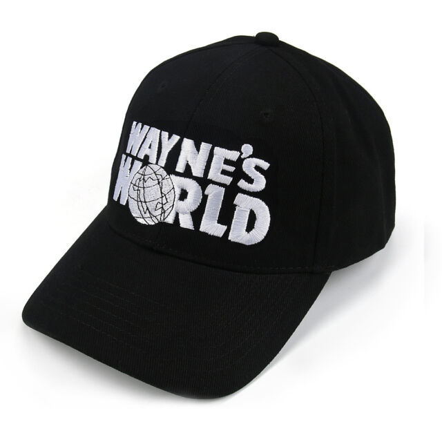 8007143fed9 Wayne s World Embroidered Baseball Cap - Retro Garth Fan Fancy Dress Party  Hat