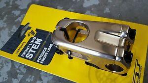 """Nouveau réglable 105mm tige pour 1 /""""et 1 1//8/"""" ahead système Keirin silver FREE P/&P"""