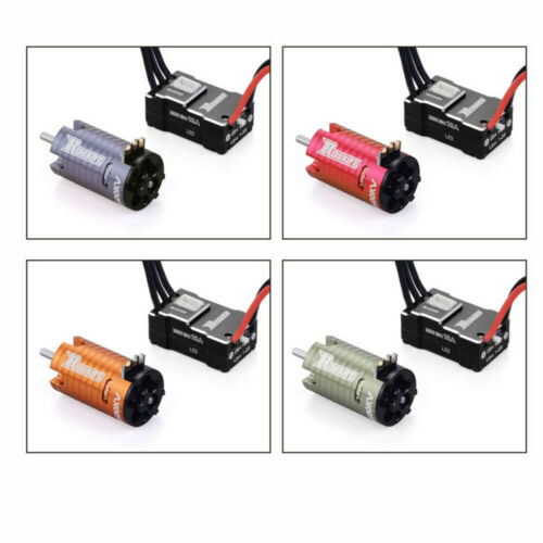 Replace Brushless Motor with 18A ESC for 1//24 1//22 1//30 Mini-Z RC Car Accessory