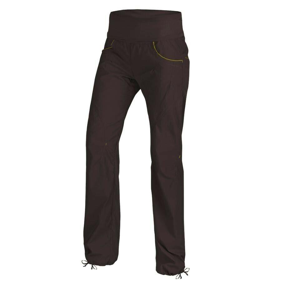Ocun Noya Pantalones Mujer Corto para Escalar en Talla Marrón