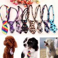 FD1008 Pet Dog Puppy Cat Baby Kid Bow Tie Necktie Handsome Adjustable Cloth 1pc