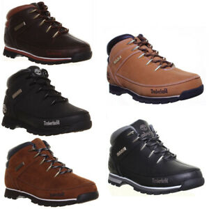 Details zu Timberland Euro Sprint Mens Durable Hiker Ankle Boots Many Colours UK Size 6 1