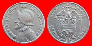 1-DECIMO-DE-BALBOA-1983-PANAMA-CARIBE-40345