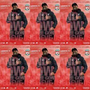 Liverpool-v-Aston-Villa-Premier-League-Programme-5-7-2020-Immediate-Delivery