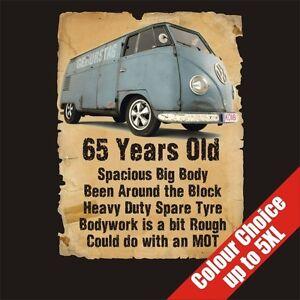 Das Bild Wird Geladen 65 Year Old Transporter 65th Birthday Gift Dad