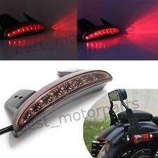CUSTOM MOTORCYCLE INTEGRATED SMOKE LED TAIL LIGHT BLINKER BRAKE & RUNNING LIGHTS