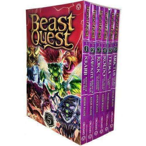 Beast Quest Series 11 The Age 6 Books Collection Set Adam Blade Pb Wml For Sale Ebay