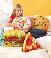 Shaped Pillows Cupcake Cookie Hamburger Or Pizza Novelty Throw Pillows
